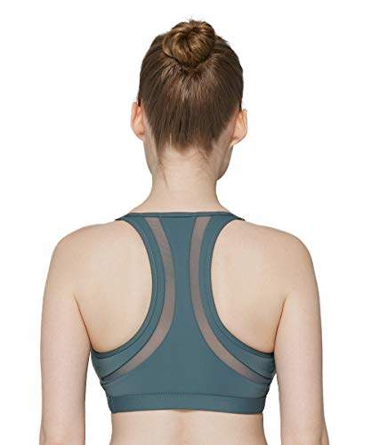 88e0e75c41d MAVOUR Women's Racerback Sports Bra High Support Padded Workout Running  Activewear for Yoga Exercise Fitness