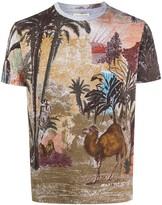 Etro jungle-print T-shirt