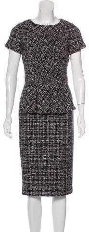 Chanel 2016 Tweed Dress