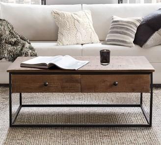 "Pottery Barn Sanford 39.5"" Rectangular Coffee Table"