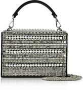 Rodo Embellished Satin Silk Celebration Bag w/Top Handle
