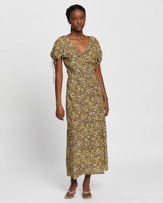 Bec & Bridge Maisie Silk SS Midi Dress