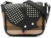 Burberry 'Ladybird' crossbody bag - kids - Cotton/Calf Leather/metal - One Size