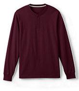 Classic Men's Super-T Henley Shirt-Brandywine