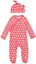 Skip Hop Pop Prints Footie & Hat Set (Baby) - Watermelon-6-9 Months