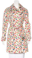 Dolce & Gabbana Floral Trench Coat