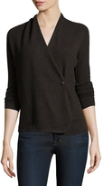 Inhabit Women's 12gg Asymmetrical Cashmere Cardigan
