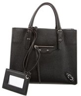 Balenciaga Mini Papier A4 Zip Around Tote