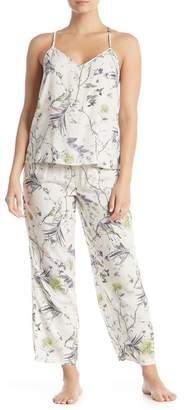 Flora Nikrooz Sleepwear Johanna Floral Print 2-Piece Pajama Set
