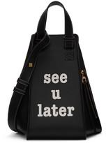Loewe Black 'See U Later' Hammock Bag