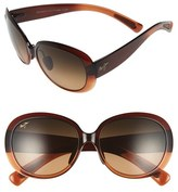 Maui Jim Women's Nahiku 59Mm Polarizedplus2 Sunglasses - Chocolate Fade/ Hcl Bronze