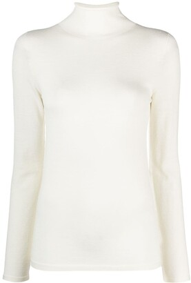 Zanone Roll-Neck Knitted Top
