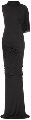 Rick Owens Asymmetrical gown
