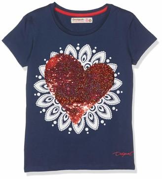 Desigual Girl's Knit T-Shirt Short Sleeve (ts_Dover)