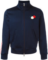 Moncler track jacket - men - Cotton/Polyamide - XL