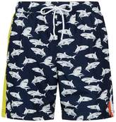 Paul & Shark Shark Print Swim Shorts