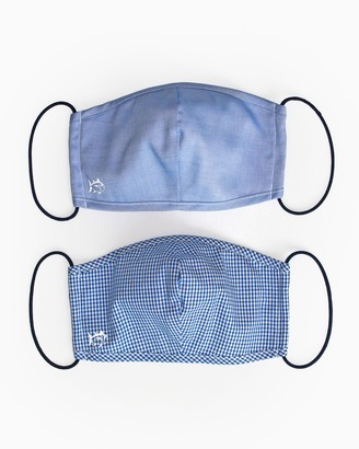 Southern Tide 2-Pack Blue Face Mask Cover