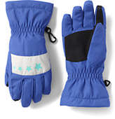 Lands' End Girls Stormer Gloves-Deep Sea