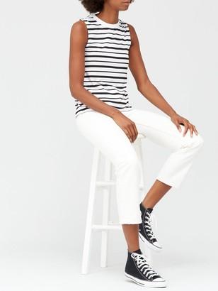 Very Sleeveless T-Shirt - Stripe