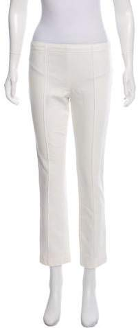 The Row Mid-Rise Straight Leg Jeans