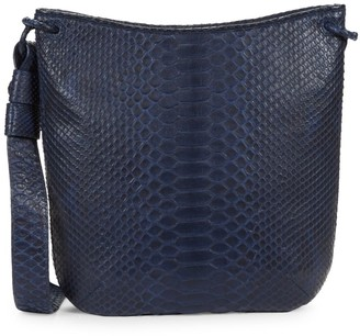 Nancy Gonzalez Python Shoulder Bag