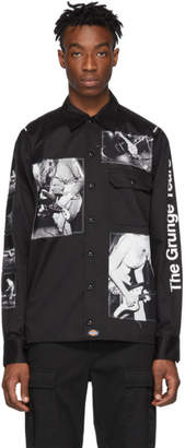 Dickies TAKAHIROMIYASHITA TheSoloist. Black Edition Charles Peterson Patch Shirt