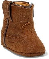 Ralph Lauren Marlow Leather Bootie