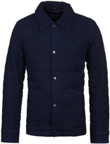 Edwin Woven Dark Indigo Quilted Work Jacket