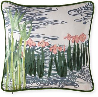 Christian Lacroix Ondine Bourgeon Pillow