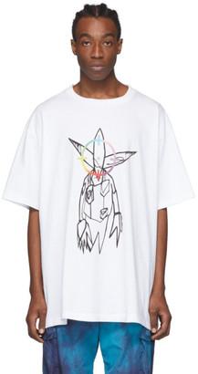 Off-White White Futura Alien T-shirt