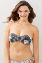 Pq Swim PQ Swim Nassau Goddess Twist Bandeau Bikini Top Black Multi S