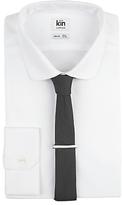 Kin By John Lewis Skola Shirt, Tie And Bar Set, White/black