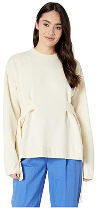 McQ Wako Knits Jumper (Oyster) Women's Clothing