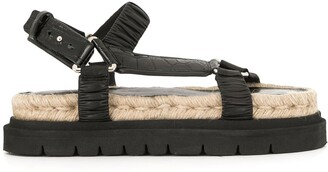 3.1 Phillip Lim Noa strappy flat sandals