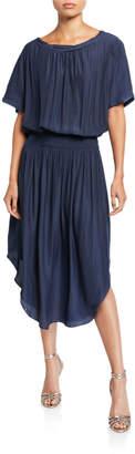 Ramy Brook Mary Blouson Midi Dress