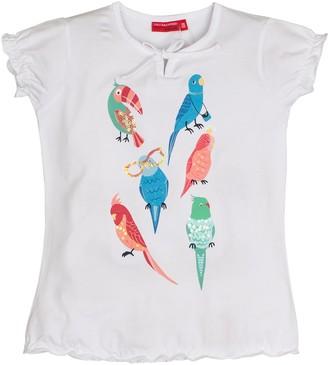 Salt&Pepper Salt and Pepper Girl's T-Shirt Smile Print Papageien