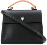 Tory Burch Parker small satchel - women - Leather - One Size