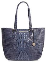 Brahmin Melbourne - Medium Lena Leather Tote - Blue