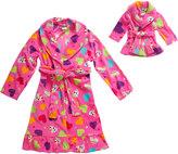 Dollie & Me Girls 4-14 Print Long-Sleeved Bath Robe