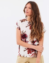 Whistles Cactus Print Top