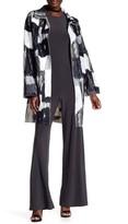 Norma Kamali Printed Oversized Trench Coat
