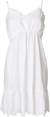 McQ Broderie Anglaise Mini Dress
