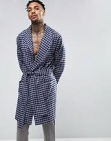 Asos Woven Checked Robe
