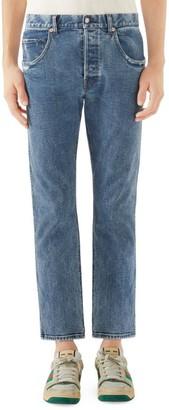 Gucci Stonewash Stretch Jeans