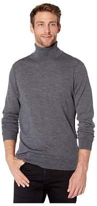 Michael Kors Merino Turtleneck (Ash Melange) Men's Sweater