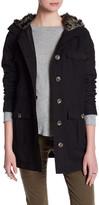 Jack Hooded Faux Fur Jacket