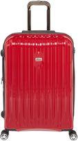 Linea Titanium II red 8 wheel hard medium suitcase