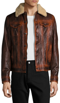 Gilded Age Port Leather Jacket