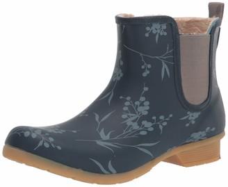 Chooka Women's Waterproof Printed Chelsea Boot with Memory Foam Rain