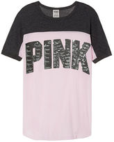 PINK Perfect Mesh Crew Tee